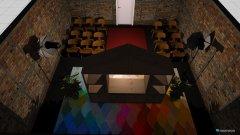 Raumgestaltung theaterraum in der Kategorie Arbeitszimmer