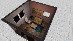 Raumgestaltung Tims Zimmer 1 in der Kategorie Arbeitszimmer