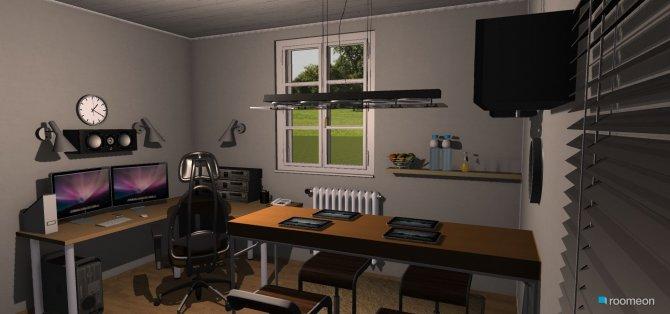 Raumgestaltung Tonstudio für 5 in der Kategorie Arbeitszimmer