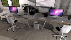 Raumgestaltung tripleT Firmendesign 2 in der Kategorie Arbeitszimmer
