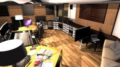 Raumgestaltung Ultimate Studio in der Kategorie Arbeitszimmer