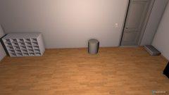 Raumgestaltung umgestyltes Zimmer in der Kategorie Arbeitszimmer
