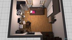 Raumgestaltung Uni -wohnraum in der Kategorie Arbeitszimmer
