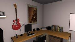 Raumgestaltung Unterrichtsraum in der Kategorie Arbeitszimmer