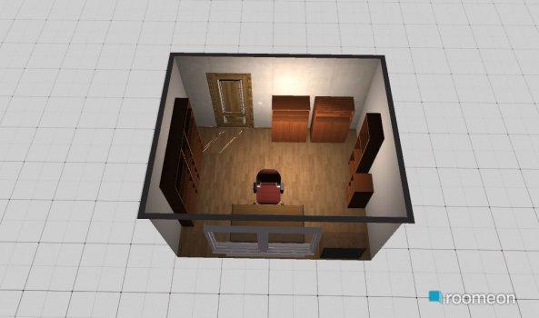 Raumgestaltung v1 in der Kategorie Arbeitszimmer