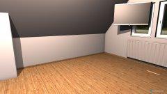 Raumgestaltung Veronika Büro in der Kategorie Arbeitszimmer