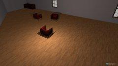 Raumgestaltung Versuch in der Kategorie Arbeitszimmer