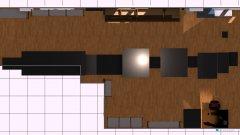 Raumgestaltung wand versetzt in der Kategorie Arbeitszimmer