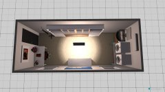 Raumgestaltung Wasch und Bügelraum in der Kategorie Arbeitszimmer