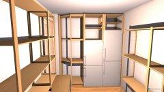 Raumgestaltung Waschküche in der Kategorie Arbeitszimmer