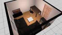 Raumgestaltung WG Immenstaad Wohnzimmer Arbeitszimmer in der Kategorie Arbeitszimmer