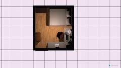 Raumgestaltung WG-Raum2 in der Kategorie Arbeitszimmer