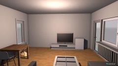 Raumgestaltung WG Zemmer in der Kategorie Arbeitszimmer