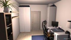 Raumgestaltung WG Zimmer1 in der Kategorie Arbeitszimmer