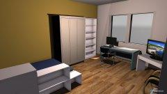 Raumgestaltung WG-Zimmer2 in der Kategorie Arbeitszimmer