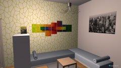 Raumgestaltung WG-Zimmer in der Kategorie Arbeitszimmer