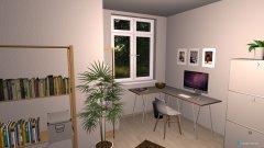Raumgestaltung WG2 Zimmer 1 in der Kategorie Arbeitszimmer
