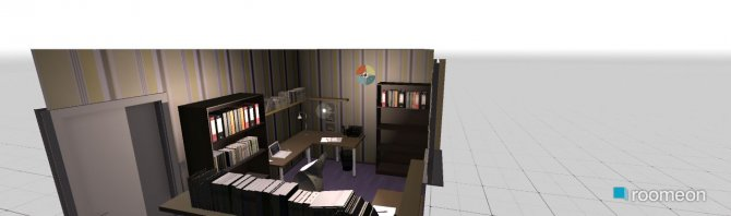 Raumgestaltung Wohnung 150 m^3 Büro in der Kategorie Arbeitszimmer