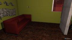 Raumgestaltung Wohnung (Aufnahmezimmer) in der Kategorie Arbeitszimmer