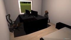 Raumgestaltung Wohnung Chris und Tina in der Kategorie Arbeitszimmer