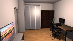 Raumgestaltung Wohnung V.1 in der Kategorie Arbeitszimmer