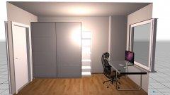 Raumgestaltung Wohnung3 in der Kategorie Arbeitszimmer