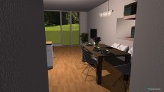 Raumgestaltung Wohnzim in der Kategorie Arbeitszimmer