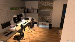Raumgestaltung Wohnzimmer 4.0 in der Kategorie Arbeitszimmer