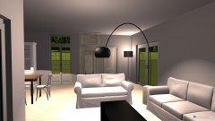 Raumgestaltung Wohnzimmer Beleuchtet in der Kategorie Arbeitszimmer