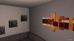 Raumgestaltung Wohnzimmer2 in der Kategorie Arbeitszimmer