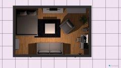 Raumgestaltung wohnzimmer in der Kategorie Arbeitszimmer