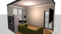Raumgestaltung wolny pokoj in der Kategorie Arbeitszimmer