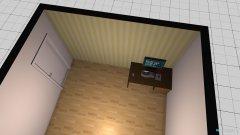 Raumgestaltung Wonung Arbeitzimmer in der Kategorie Arbeitszimmer