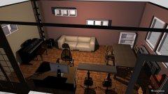 Raumgestaltung Wphnzimmer in der Kategorie Arbeitszimmer