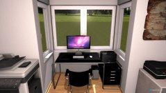 Raumgestaltung Youtuber-Arbeitszimmer in der Kategorie Arbeitszimmer