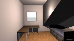 Raumgestaltung Zimmer 1 70cm Aufstockung in der Kategorie Arbeitszimmer