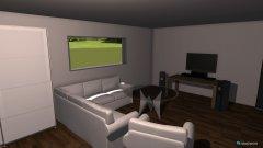 Raumgestaltung Zimmer 1 in der Kategorie Arbeitszimmer