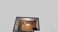 Raumgestaltung Zimmer 2.0 in der Kategorie Arbeitszimmer
