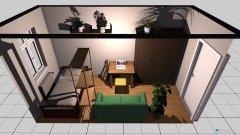 Raumgestaltung Zimmer 6 in der Kategorie Arbeitszimmer