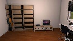 Raumgestaltung Zimmer daniel in der Kategorie Arbeitszimmer