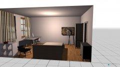 Raumgestaltung Zimmer entwurf 1 in der Kategorie Arbeitszimmer