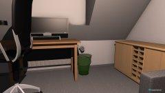 Raumgestaltung Zimmer Lukas_1 in der Kategorie Arbeitszimmer