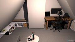 Raumgestaltung Zimmer Lukas in der Kategorie Arbeitszimmer