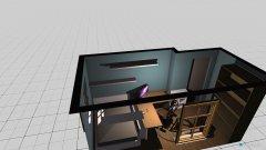 Raumgestaltung Zimmer Martin in der Kategorie Arbeitszimmer
