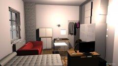 Raumgestaltung zimmer mit mass 2 mit 2 rohr  in der Kategorie Arbeitszimmer