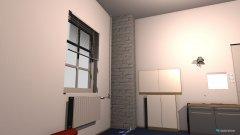 Raumgestaltung zimmer mit mass 2 mit rohr  in der Kategorie Arbeitszimmer