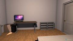 Raumgestaltung Zimmer mit Tracktorregal in der Kategorie Arbeitszimmer