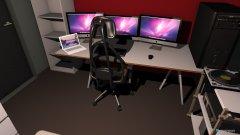 Raumgestaltung Zimmer Neu :D in der Kategorie Arbeitszimmer