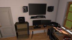Raumgestaltung Zimmer neu in der Kategorie Arbeitszimmer