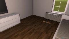 Raumgestaltung Zimmer Papa in der Kategorie Arbeitszimmer